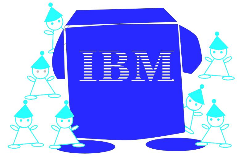 IBMと7人の小人たちのイメージ画像